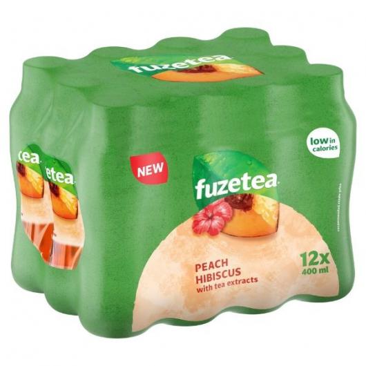 Fuze Tea Peach Hibiscus 12 x 400ml