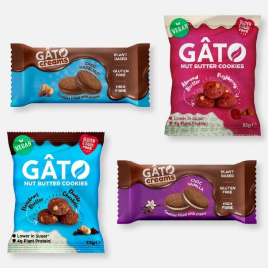 Gato Mini Cookies and Cookies n Creams x 4 Packs