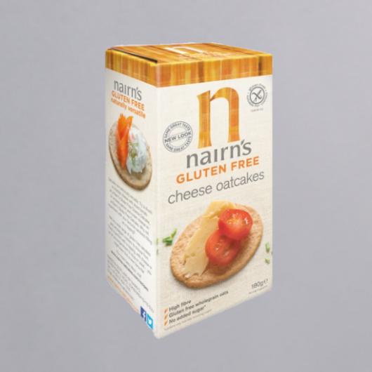 Gluten Free Cheese Oatcakes - 180g MF_SN1233