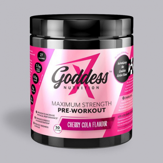 Goddess Nutrition Maximum Strength Pre Work Out - Cherry Cola