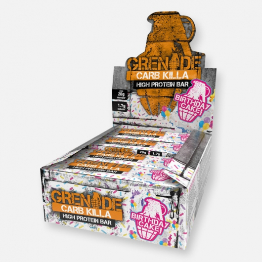 Birthday Cake Grenade® Carb Killa™ Bars - 12 x 60g