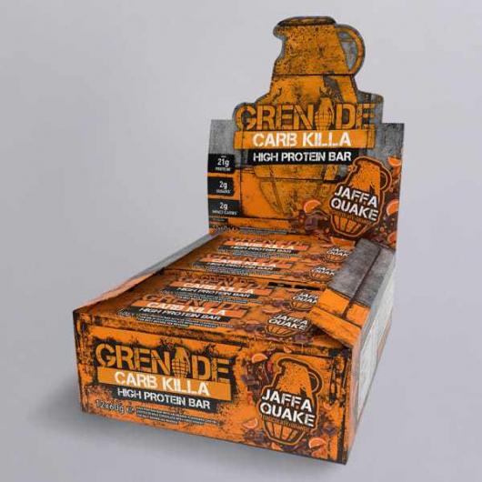 Grenade® Carb Killa™ Bars-12 x 60g Bars-Jaffa Quake MF_SN221_new-