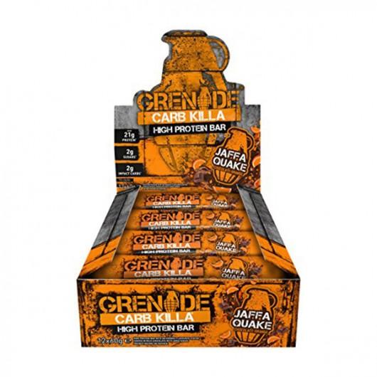 Grenade Carb Killa Bars - Jaffa Quake