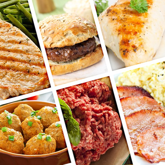 High Protein Meats for the Month Stack