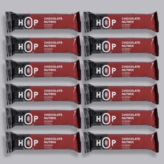 HOP Cricket Flour Protein Bar - Chocolate 12 x 30g