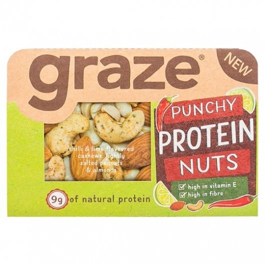 Graze Punchy Protein Nuts 41g - 3 Packs