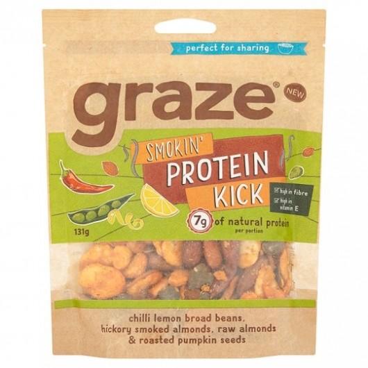 Graze Smokin' Protein Kick Sharing Bag 131g ****