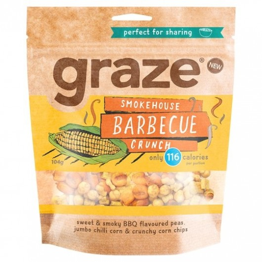 Graze BBQ Crunch Sharing Bag 104g ****