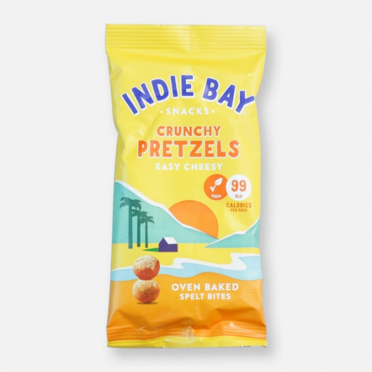 Indie Bay Spelt Pretzel Bites Easy Cheesy - 99 kcal