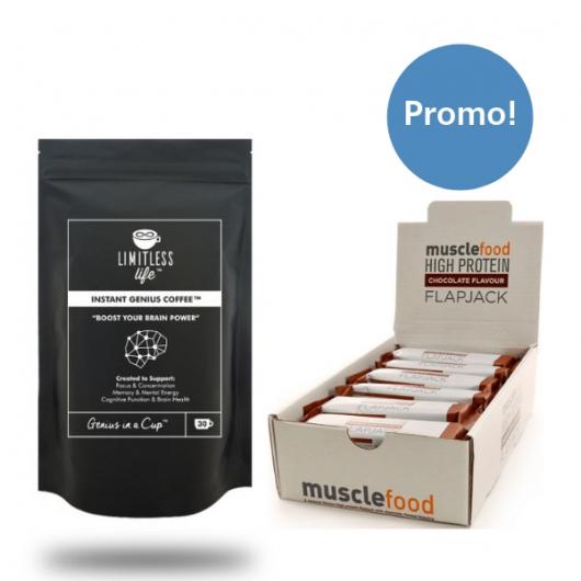 Instant Genius Matcha Tea + x 12 Free Flapjacks