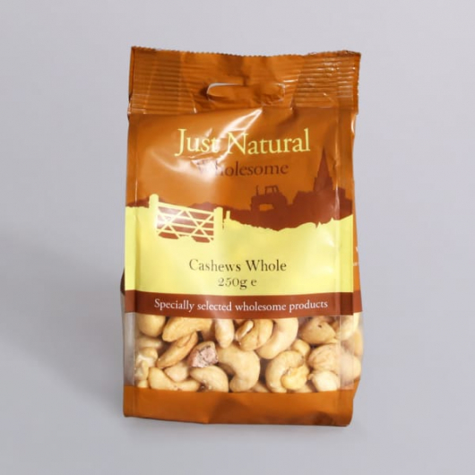 Natural Cashew Nuts - 250g