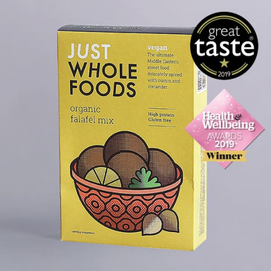 Just Wholefoods Organic Vegan Falafel Mix