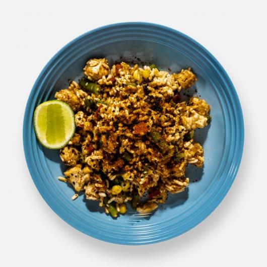 Spicy Korean Chicken & Rice Pot