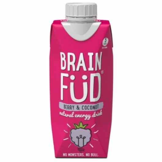 Brain Füd Energy Drink - Berry & Coconut 330ml