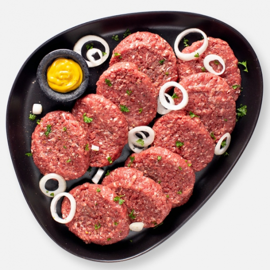 Lean Free Range Steak Burgers - 10 x 114g