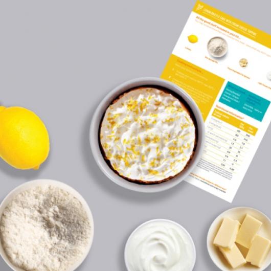 Lemon Drizzle Cake Recipe Kit