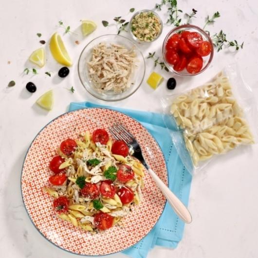 Shredded Lemon Chicken Pasta Meal Kit 283 Kcals