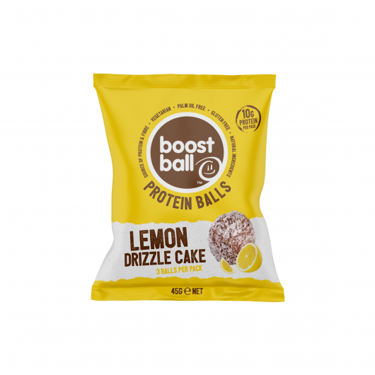 Boostball Lemon Drizzle Cake Protein Balls
