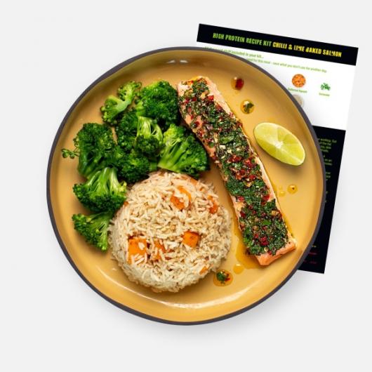 Levi's Chilli & Lime Baked Salmon Recipe Kit