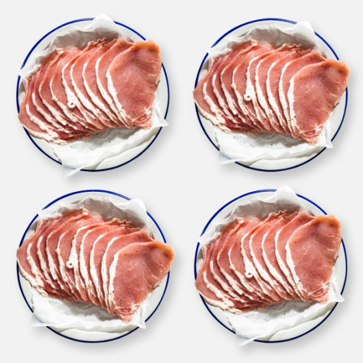 Low Fat Unsmoked Bacon Medallions - 4 x 350g
