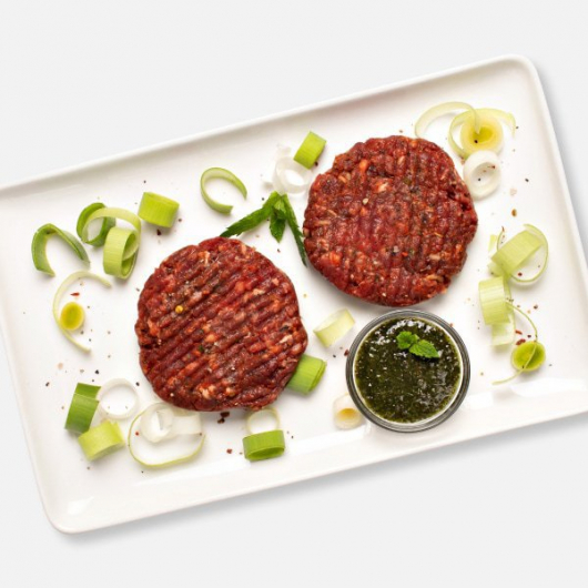 Lush Welsh Style Lamb and Mint Burgers 2 x 114g