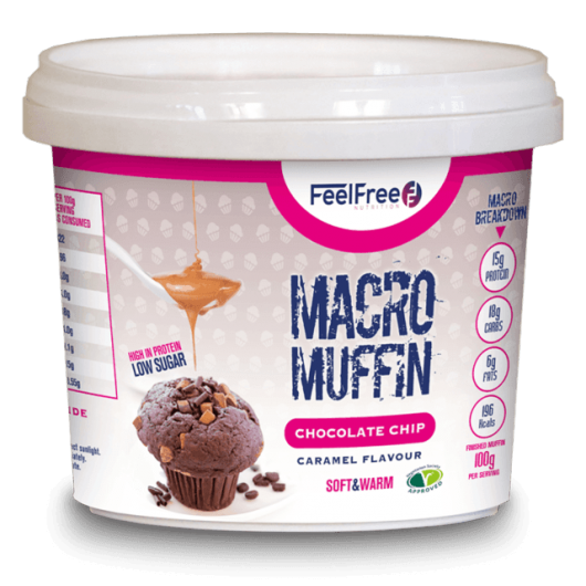 High Protein Macro Muffin by Feel Free Nutrition - 100g