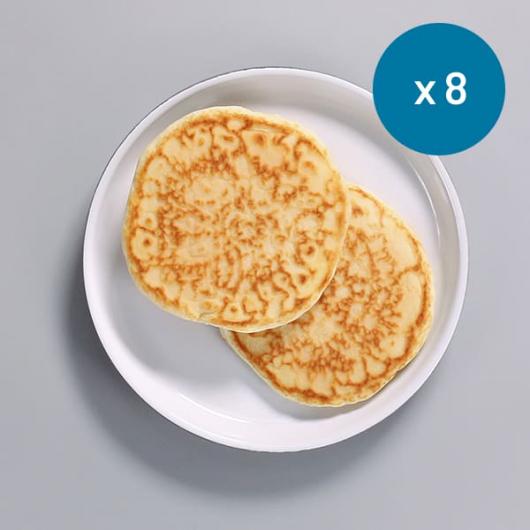 High Protein Ready To Eat Plain Pancakes- 8 x 50g