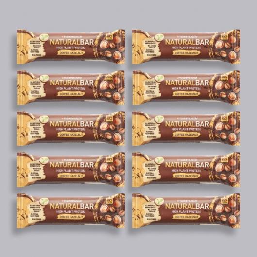 Maximuscle Natural Bar Coffee Hazelnut -10 x 40g