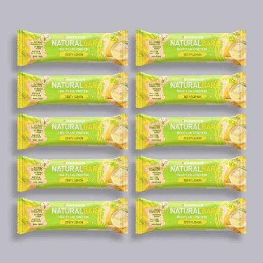 Maximuscle Natural Bar - Zesty Lemon - 10 x 40g
