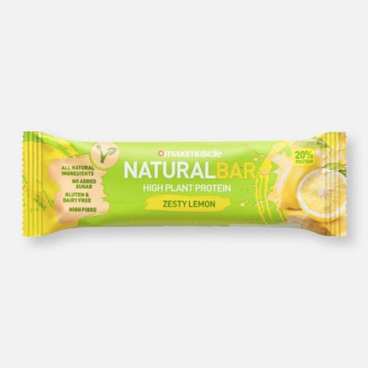 Maximuscle Vegan Bar - Zesty Lemon 40g