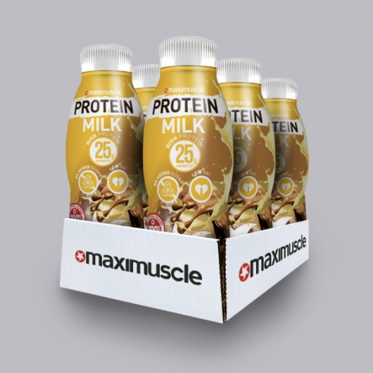 Maximuscle Protein Shakes - Banoffee 6 x 330ml