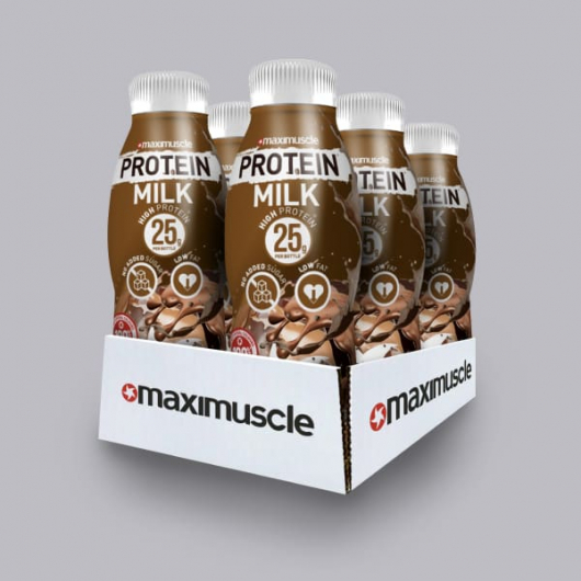 Maximuscle Protein Shakes - Chocolate 6 x 330ml