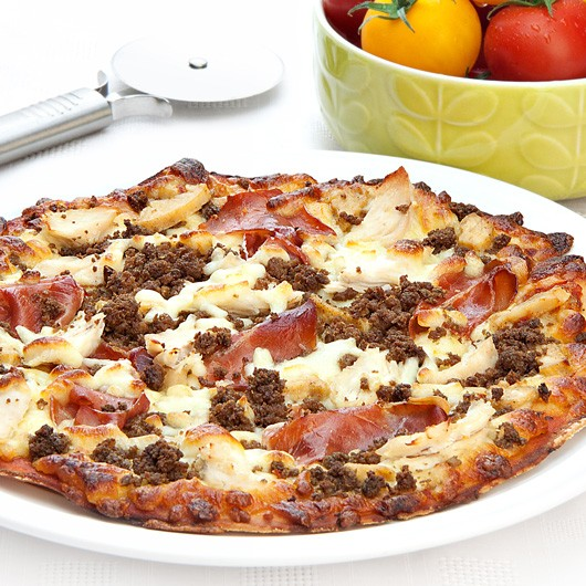 "10"" Mighty Meat Protein Pizza"