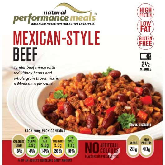 Protein Ready Meal - Mexican Beef