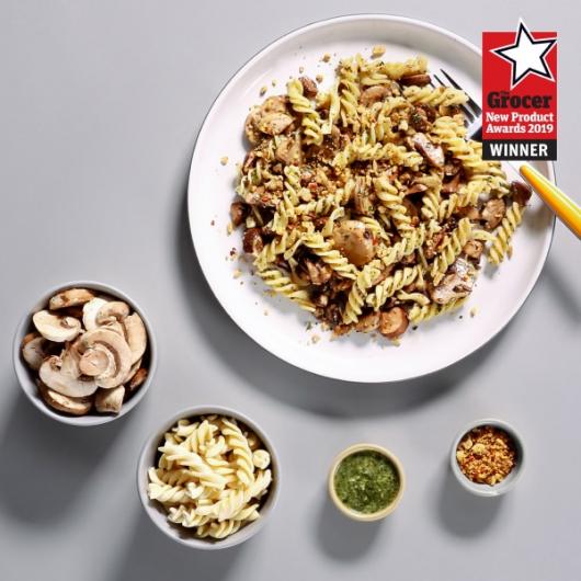 Mushroom Pesto Pasta Kit - 343 kcal