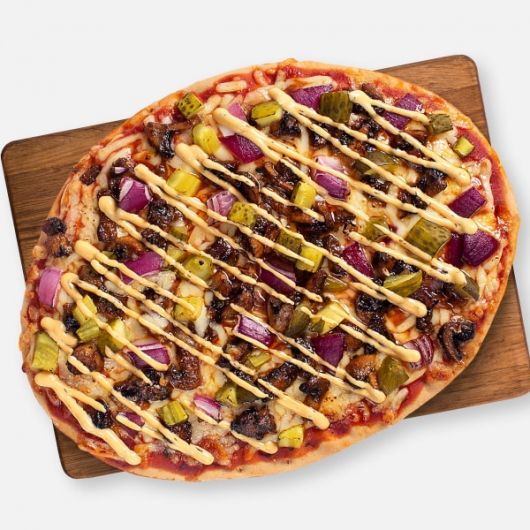 Burger Me It's Meat Free Pizza