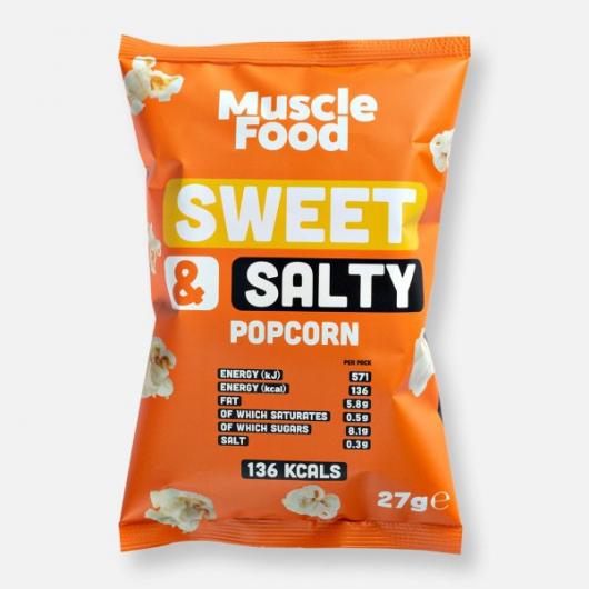 MuscleFood Sweet and Salty Popcorn 27g