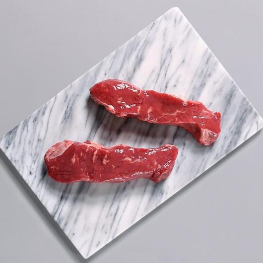 2 x 170g Matured Free Range Grass Fed Sirloin Steaks