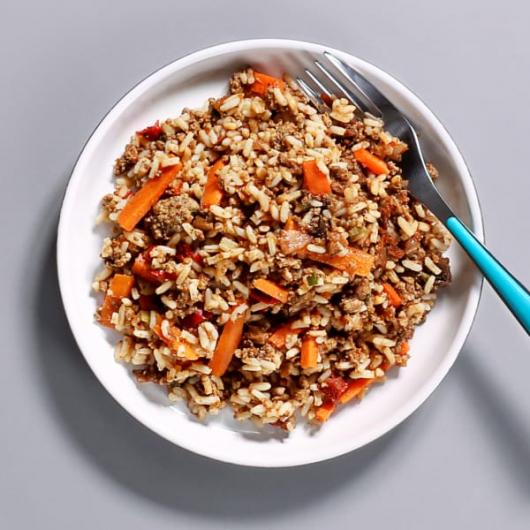 Cajun Beef & Rice Pot - 336 kcal