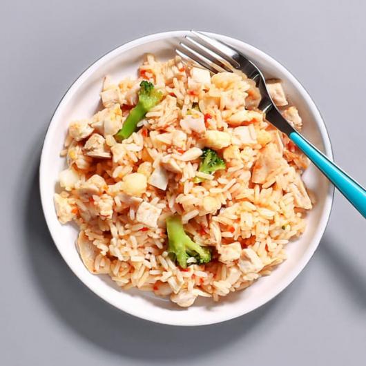 Sweet Chilli Chicken & Rice Pot - 353 kcal