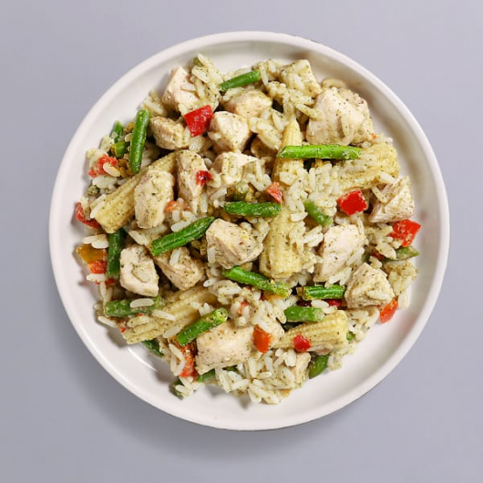 Thai Curry Chicken & Rice Pot - 34g Protein & 274 kcal