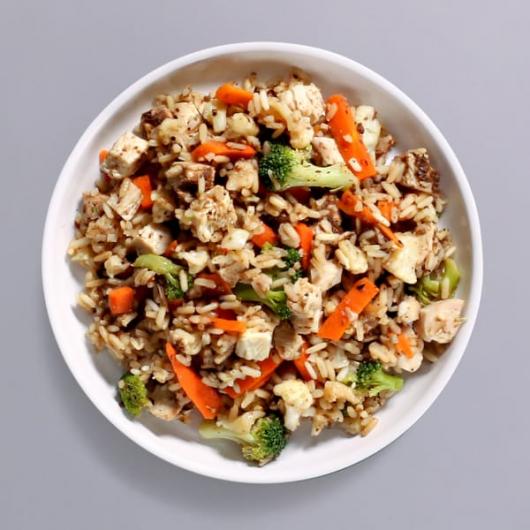Black Bean Chicken & Rice Pot - 34g Protein & 314 kcal