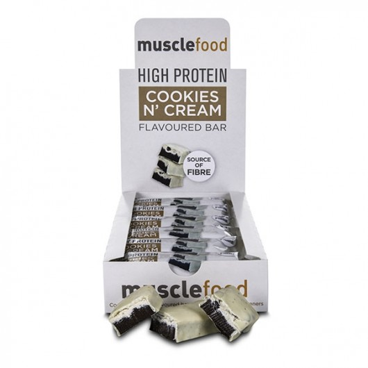 Cookies & Cream Protein Bar - 12 Pack ****