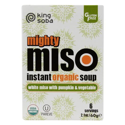 Pumpkin & Veg Miso Soup