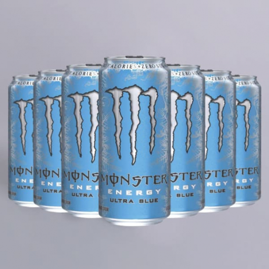 Monster Energy Ultra Blue No Sugar 12 x 500ml