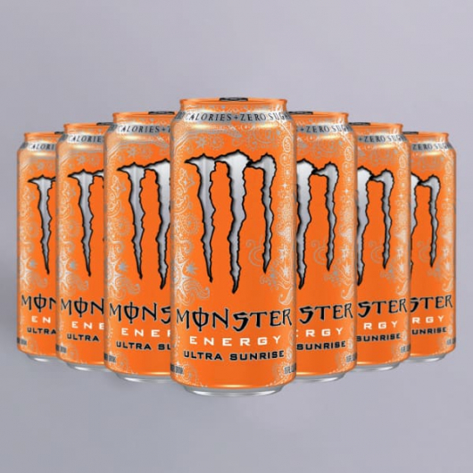 Monster Energy Ultra Sunrise - 12 x 500ml