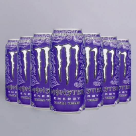 Monster Energy Ultra Violet Zero Calories 12x500ml