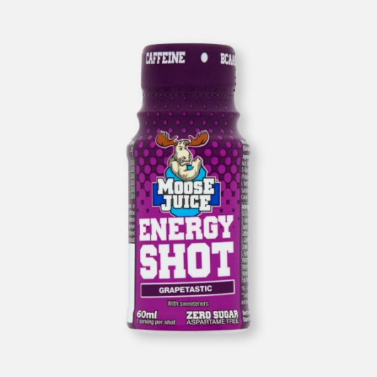 Moose Juice Energy Shot  - Grapetastic 60ml