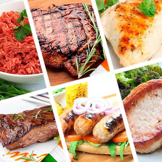 January 40 Piece Lean Meat Hamper