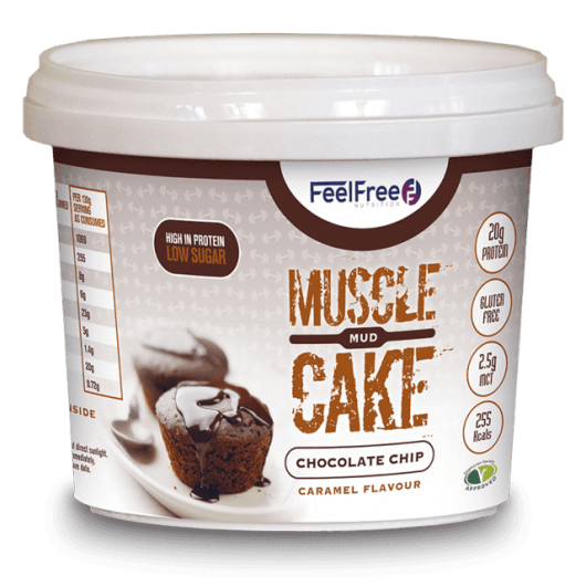 High Protein Mud Cake by Feel Free Nutrition - 100g